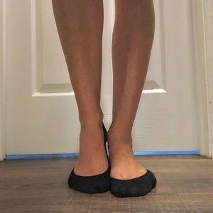 Nylon spandex cotton blend socks